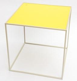 Table M - Gris/Citrine