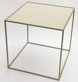 Table M - Olive/Gris soyeux