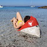 """""""A"""" of OLA - beach chair - red 4"""