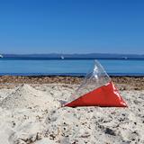 """""""A"""" of OLA - beach chair - red 3"""