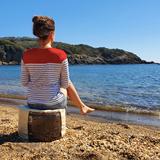 """O"" of OLA - beach chair - beige 4"