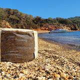 """O"" of OLA - beach chair - beige 2"