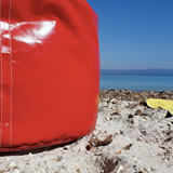 """""""O"""" of OLA - beach chair - red 3"""