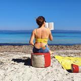 """""""O"""" of OLA - beach chair - red 5"""