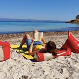 """""""O"""" of OLA - beach chair - red 4"""
