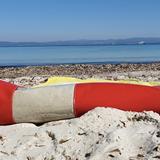 """""""L"""" of OLA - beach chair - red 3"""