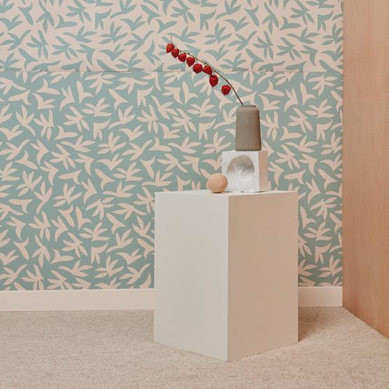 Wallpaper LOUP - Beige - Design : Mues Design