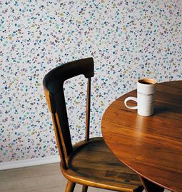 Wallpaper AGATHE - White