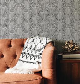 Wallpaper ARNAUD - Black and White