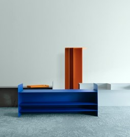 Coffee Table S  - Blue