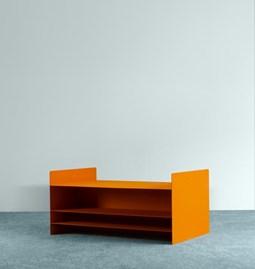 Table basse profonde - Orange