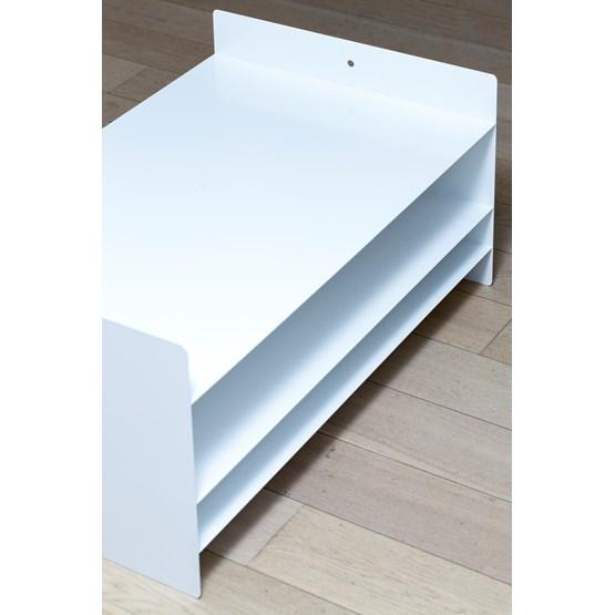 Coffee table M - White - Design : MAUD Supplies