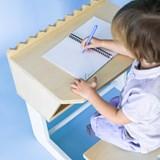 """TIK-TOK"" the croco kid's desk - wood 4"