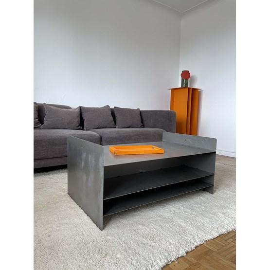 Coffee table M - Metal gray - Design : MAUD Supplies