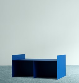 Coffee table M - Blue