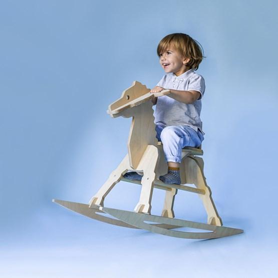 MARTY Rocking Horse zebra - wood - Design : Studio Ruthy Design