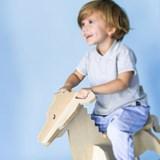 MARTY Rocking Horse zebra - wood 5