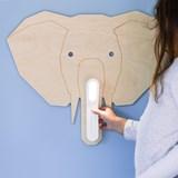 DUMBO Elephant Reading Light - wood 3
