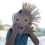 Masque à lacer KOPA - Bois 5