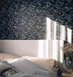 Wallpaper MARIE - Black