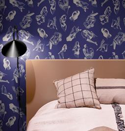 Wallpaper NINA - Blue