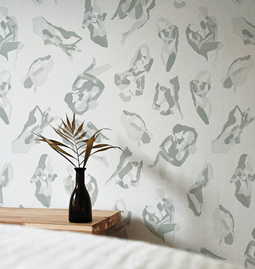 Wallpaper NINA - Grey