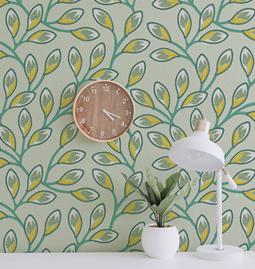 Wallpaper NYAMBURA - Green