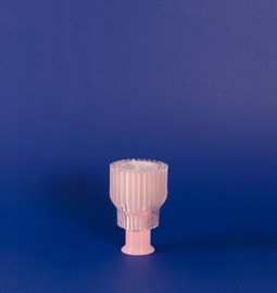 Double candle holder 2.21.2 - pink