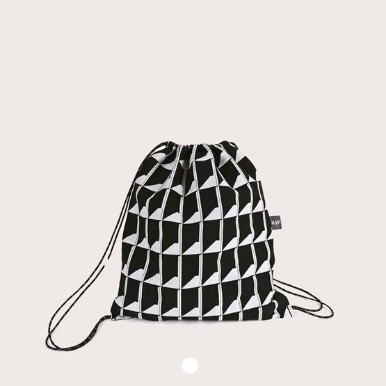 Jacquard Shadow Volume B&W Backpack - Design : KVP - Textile Design