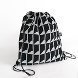 Jacquard Shadow Volume B&W Backpack 4
