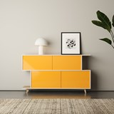Sideboard S*2 - Ash / Yellow 3