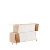 Sideboard S*2 - Ash / Orange 7