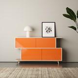 Sideboard S*2 - Ash / Orange 3