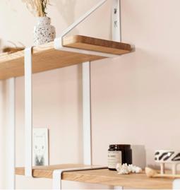 Wall shelf LA MERVEILLEUSE - etienne white