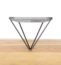 Shelf wall support LE FORMIDABLE -  raw steel