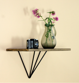 Shelf wall support LE FORMIDABLE - basile black