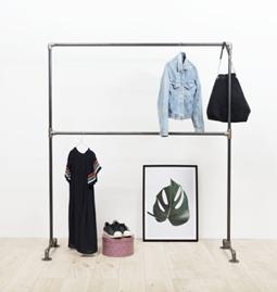 Clothing rack LE TÉMÉRAIRE - steel