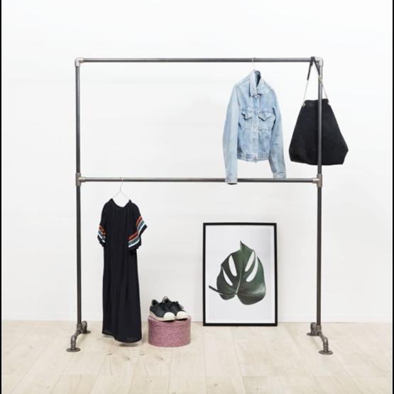 Clothing rack LE TÉMÉRAIRE - steel - Design : Ripaton
