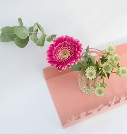 Cactus wall shelf - pink Toulouse