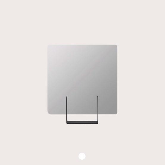 Miroir Look carré - anthracite  - Design : Marc van der Voorn