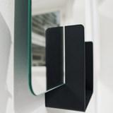Miroir Look carré - anthracite  6