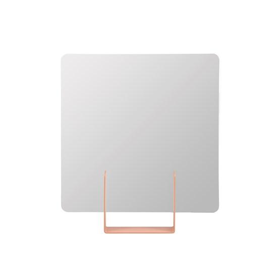 Miroir Look carré - rose - Design : Marc van der Voorn
