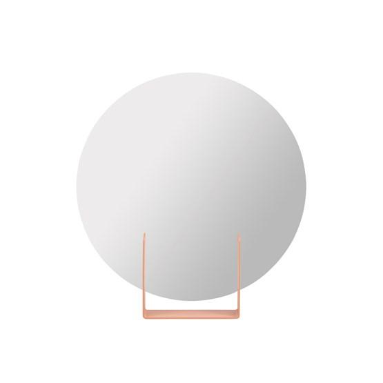 Mirror Look round - pink - Design : Marc van der Voorn
