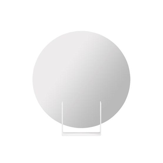 Mirror Look round - white - Design : Marc van der Voorn