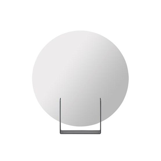 Mirror Look round - anthracite  - Design : Marc van der Voorn