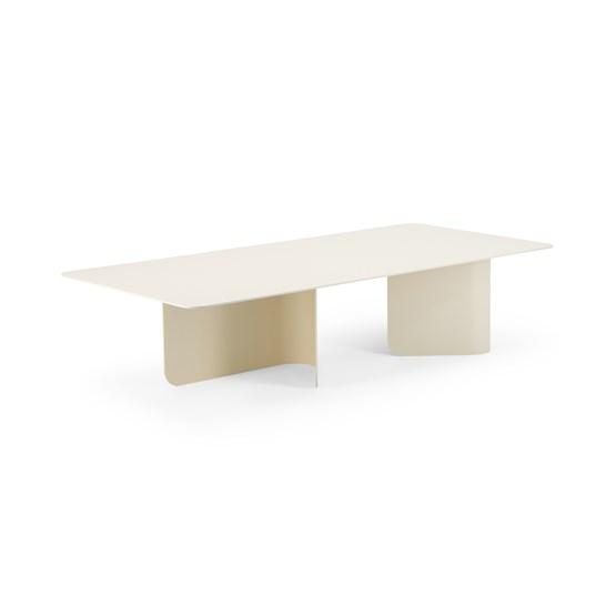 Coffee table Surf - ecru - Design : Marc van der Voorn