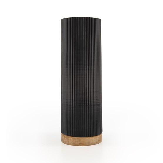Vase Show - black/oak  - Design : Julien van Hassel