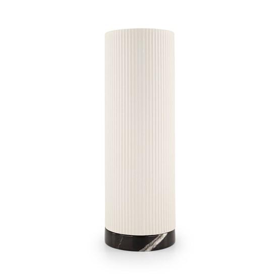 Vase Show - blanc/marbre  - Design : Julien van Hassel