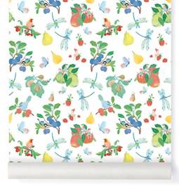 Wallpaper Garden Party - Multicolor
