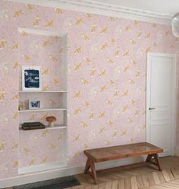Wallpaper Kistuné - Pink